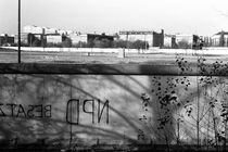 BW Germany Berlin wall 1970s von blackwhitephotos