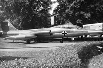 BW Germany Munich Deutsch Museum starfighter 1970s by blackwhitephotos