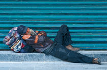 Hombre descansando Mann ruhen von Ricardo Anderson