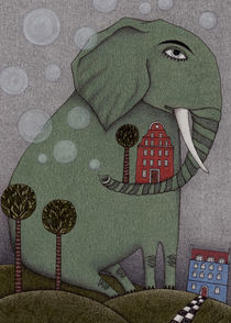 It's an Elephant! von Judith  Clay