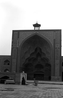 BW Iran Isfahan friday Mosque 1970s von blackwhitephotos
