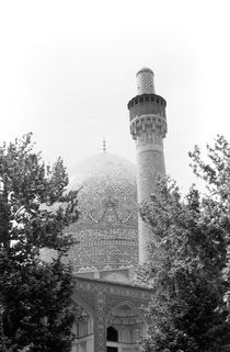 BW Iran Isfahan royal mosque 1970s by blackwhitephotos