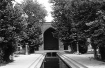 BW Iran Isfahan mosque 1970s by blackwhitephotos