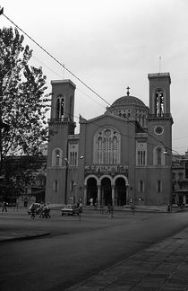 BW Greece Athens Panagia Gorgoepikoos Church 1970s by blackwhitephotos
