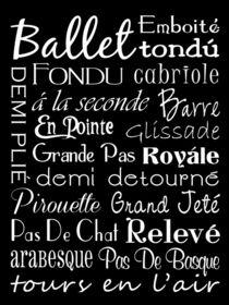 Ballet Subway Art Poster von friedmangallery