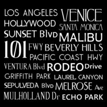California Destinations Poster by friedmangallery