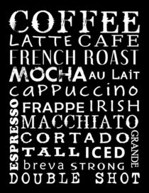 Coffee Poster by friedmangallery