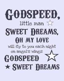 Godspeed, Sweet Dreams Poster by friedmangallery