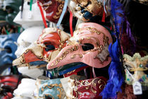 Colorful masks by Miroslava Andric