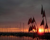 good night harbour I von Frank Wöllnitz