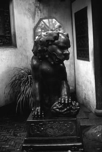 BW China Shanghai Yuyang garden 1970s by blackwhitephotos