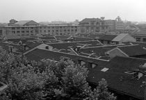 BW China Shanghai City 1970s von blackwhitephotos