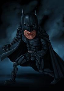 Batman caricature  by Jose Antonio Avalos