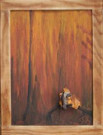 Eichhörnchenrelief/ Squirrelrelief by Barbara Ulmer