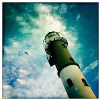 Poeler Leuchtturm von Frank Wöllnitz