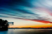 Brushed Sunset by Kristiina  Hillerström