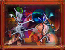 Kleine Hexe verfolgt brave Seele by David Renson