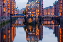 Speicherstadt District, Hamburg Germany von dreamtours