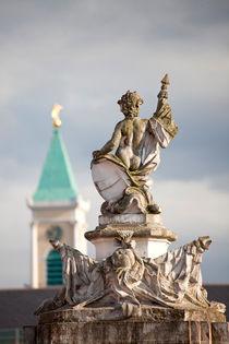 Statue at Karlsruhe Palace