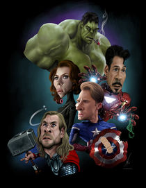 Some Avengers von Alex Gallego