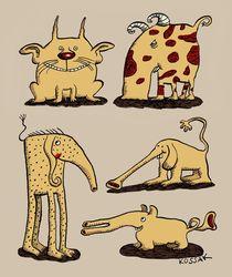 Funny Animals von Arnulf Kossak