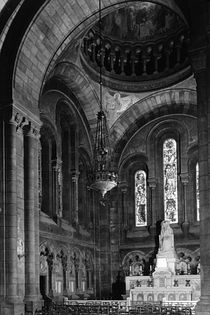 BW France Paris sacre Coeur basilica virgin chapel 1970s von blackwhitephotos