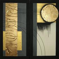 Abstrakt ohne Titel von Lidija Kämpf