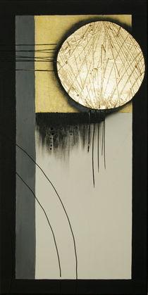Abstrakt ohne Titel (zweites Bild - Kreis) by Lidija Kämpf