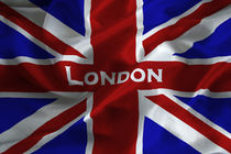 London Flag von David Pringle