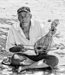 The Cretan Busker by Rod Ohlsson