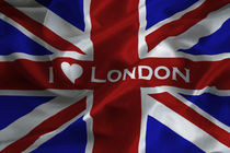 I-love-london-flag