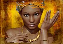 afrikanisches Portrait von majorgaine