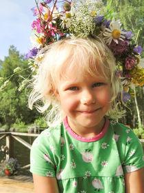 Flower girl von Kristiina  Hillerström