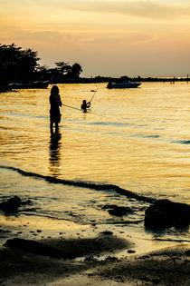 Sunset fishing von Kristiina  Hillerström
