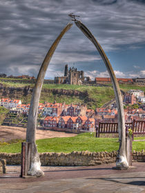 Whitby Whale Bone Arch by Allan Briggs