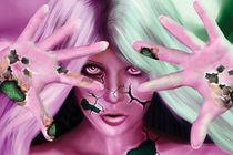 Robotic Woman by Cherie Gartner