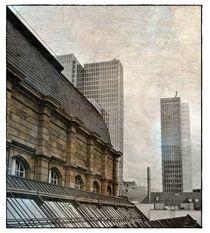 auf dem Dach der Börse III von Frank Wöllnitz