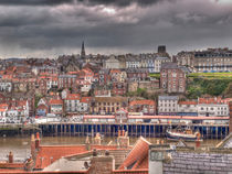 Whitby Quayside by Allan Briggs