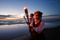 Midsummer celebration at the beach in Jurmala by dreamtours