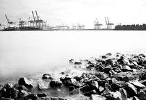 Hafenansichten I von Simone Jahnke