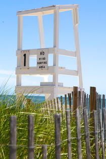 Beach Lifeguard Chair von Christopher Seufert