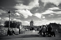 Pont des Arts in Paris by Daniel Zrno