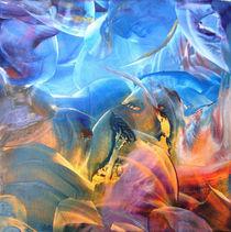 Unruhe unter Wasser  by Ulrike Kröll