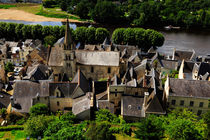 Chinon Village von Louise Heusinkveld