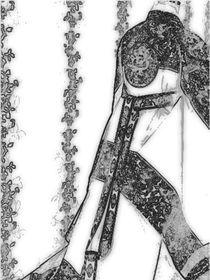 Hanbok sketch von Anca Nichifor