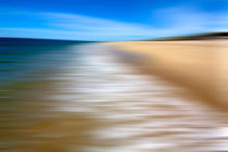 Zen Beach II (Long Exposure Sweep) von Christopher Seufert