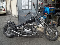 "chopper xs650 (fiedlerumbau) ""Arme-Leute-Harley"" by techdog"