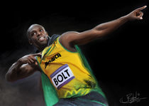 Usain Bolt by James Barford