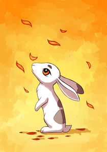 Autumn Hare von freeminds