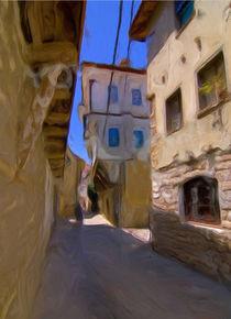 Ohrid houses by Georgi Koncaliev